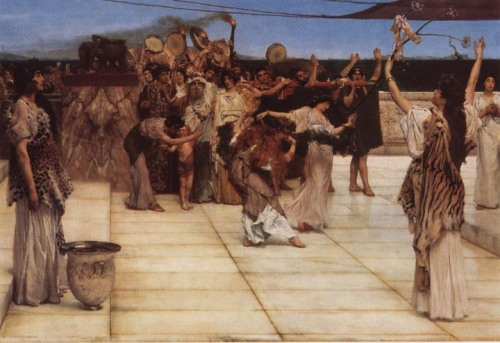 Consecration of a Priestess of Bacchus by Sir Laurence Alma-Tadema